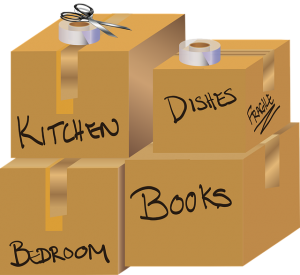 Label boxes to relocate your belongings