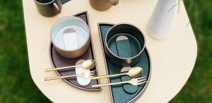 Minimalist dish set