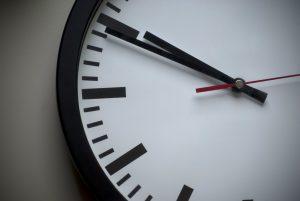 Analogue classic clock