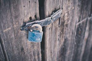 Loose padlock