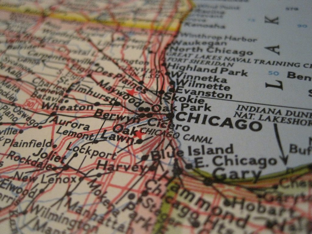 location of storage facilities Chicago