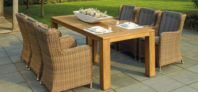 It is important to clean and store patio furniture over the winter.