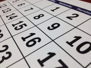 a calendar you will use to calculate your Average moving cost for long distance move