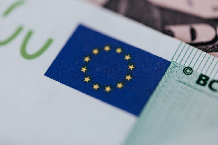 Euro, a bill you'll use when moving your office from Chicago to Europe