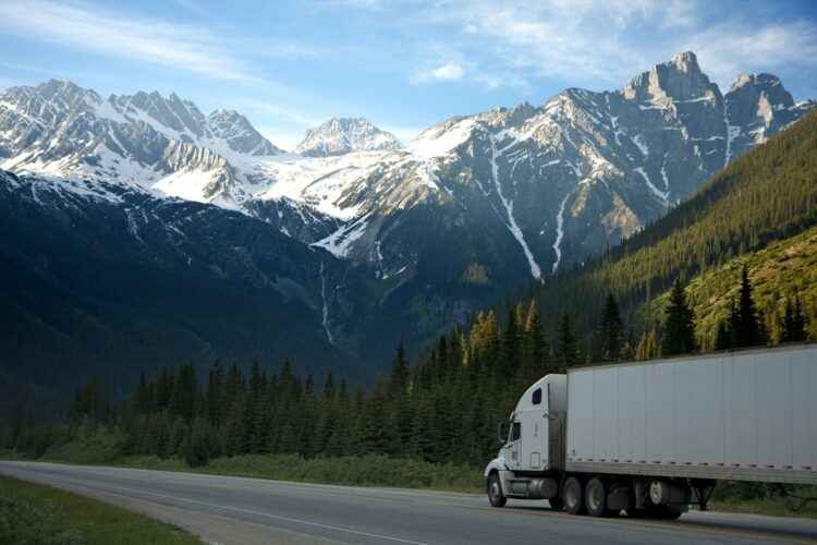 Moving truck insured by the different types of moving insurance