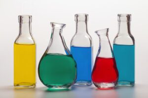 glass bottles with liquids as one of the Winter storage mistakes