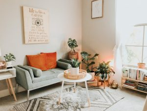A small living room