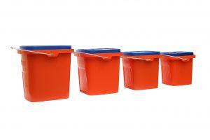 image of plastic bins