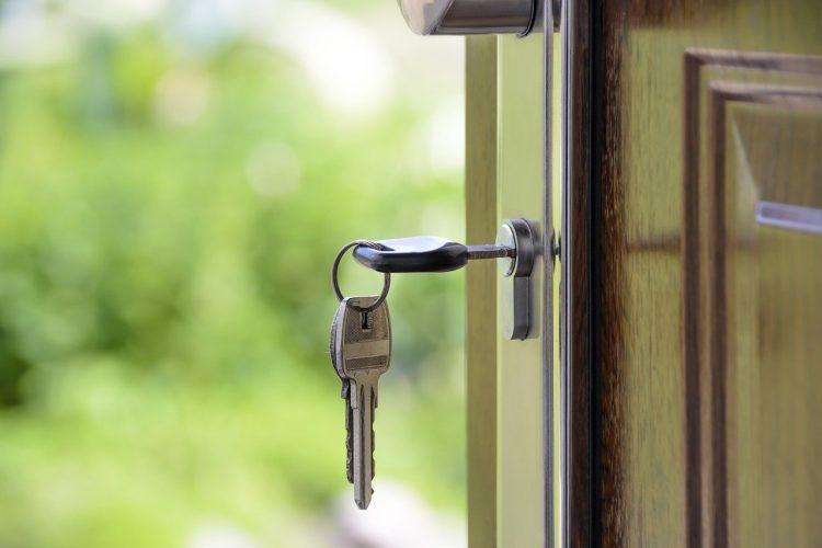 A key in doors