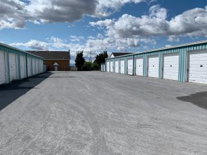 An outdoor storage facility